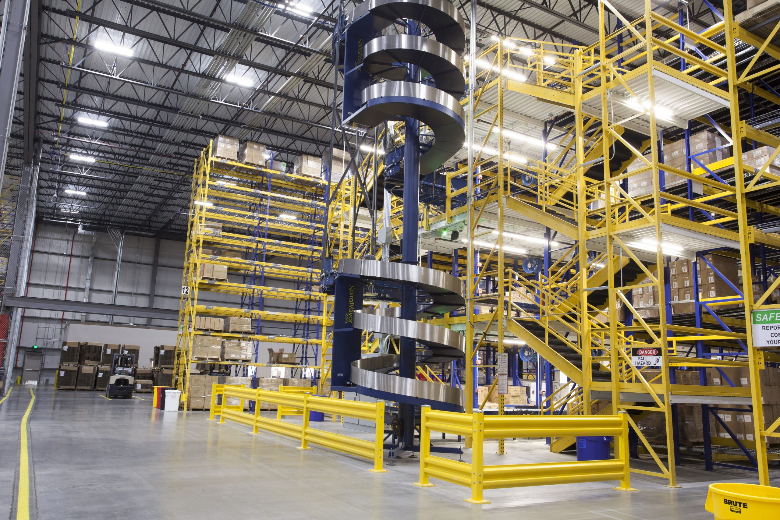integrated warehouse systems